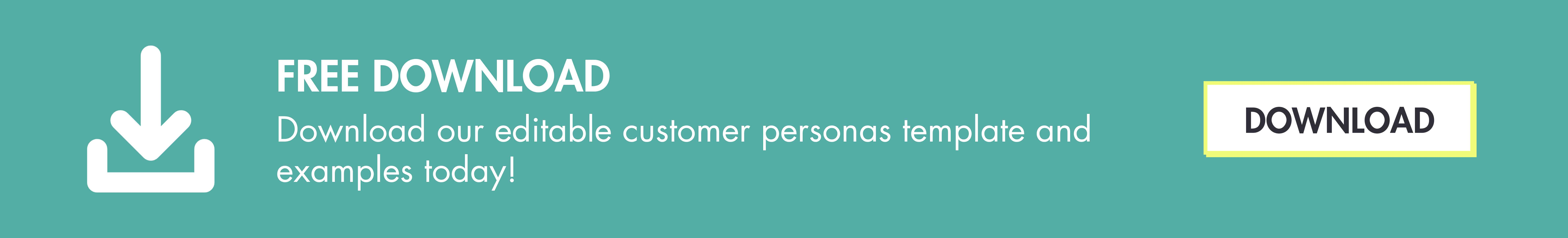 Download Customer Personas Template