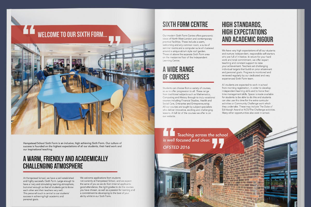 hampstead school magazine